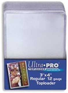 Ultra Pro 3x4 Top Loaders 100 ct Plus 100 Free Card Sleeve Promo Pack (1 Pack)