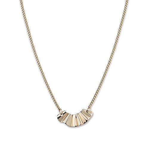 Rosefield BLWNG-J201 Damesketting en hanger, goud, roestvrij staal