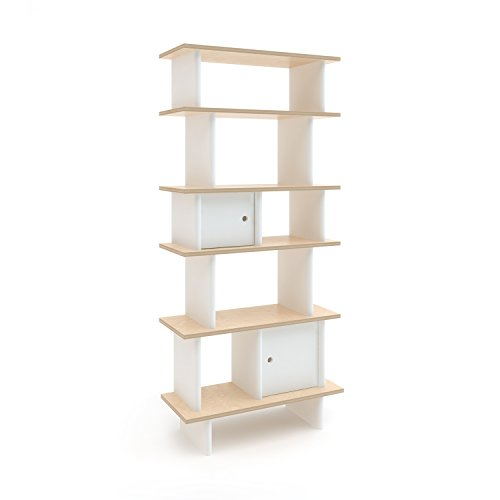 Why Should You Buy Oeuf Vertical Mini Library - Birch (Box 2), White