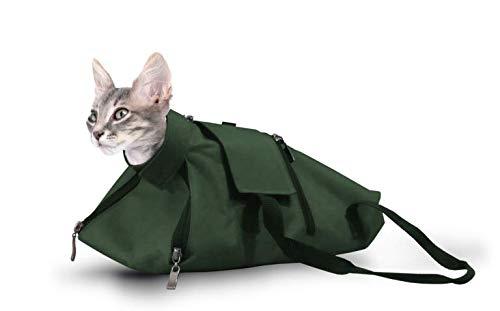 cat-or-dog.boutique Hochwertige Tasche für Katzen, Hasen: Pflege, Pflege, Behälter, medizinische Untersuchungen – 3 Größen (2 m): 2 – 5 kg