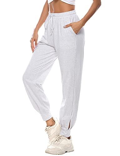 Aseniza Pantalon Chandal Mujer Algodón...