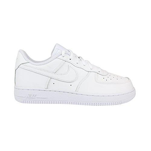 Nike Force 1(PS) Sneaker Basketball, Kinder, Weiß - Weiß (White / White-White) - Größe: 27.5 EU
