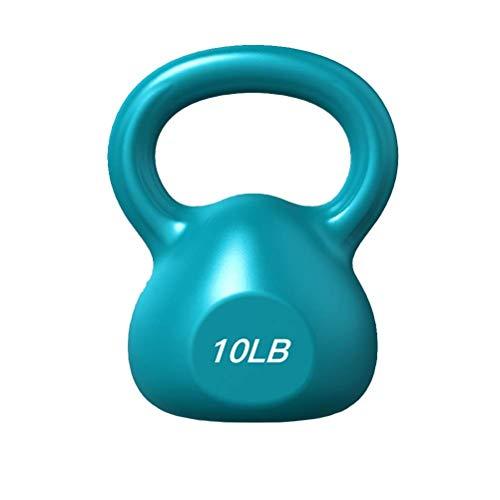 XHCP Kettlebells Out Fitness Color Kettlebells, Heim-Fitnessstudio-Outdoor-Sit-up-Squat-Krafttrainingsgeräte, 5 lb / 10 lb / 15 lb / 20 lb Gewicht Optional