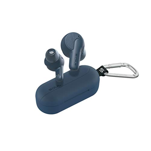 New SOUL SYNC ANC - Wireless Earbuds - in Ear Headphones, Active Noise Cancelling, True Wireless, Bluetooth, Water-Resistant (Blue)