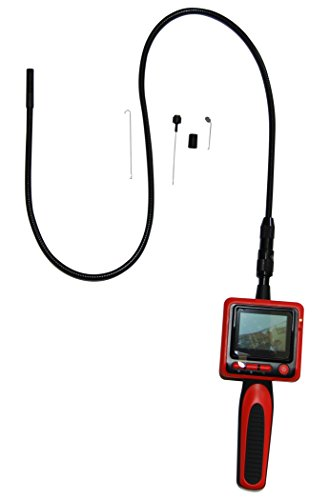 Vividia 9mm Portable Digital Flexible Inspection Camera with 2.4' LCD Monitor