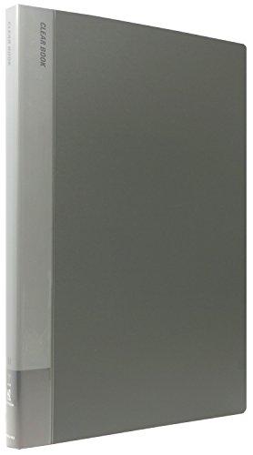 コクヨ ファイル クリアファイル B4 40枚 グレー ラ-574NDM