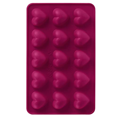 Silicone Chocolate Mold 2/Pkg-Heart