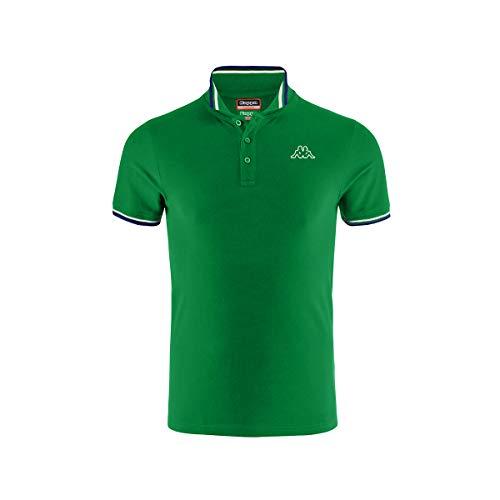 Kappa ESMO T-Shirts & Poloshirts Herren Grün - XXL - Polohemden
