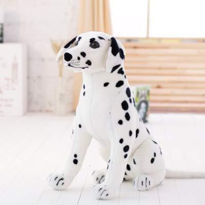 huobeibei Simulación Beagle Pastor Spotty Dog Toy Peluches Perro Peluches Regalo para niños Decoración del hogar Mascota 90cm B