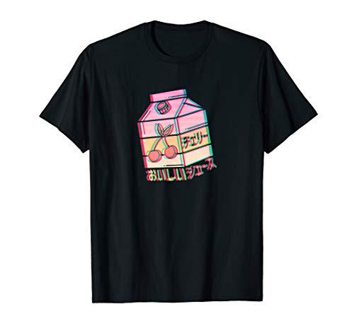 Kirsche Japanische Aesthetic Limonade T-Shirt