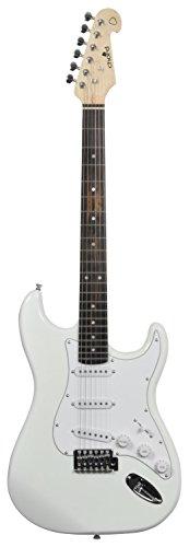 Chord CAL63 Guitare électrique imitation Stratocaster (6 cordes, 3 micros...