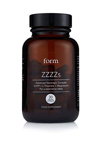 Form ZZZZs - Natural Nootropic for Sleep | 5-HTP | Magnesium | Zinc | Calming Amino Acids | for a Naturally Regenerative Sleep