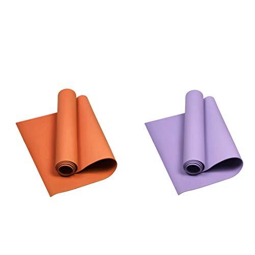 Sharplace 2X Almohadillas Antideslizantes para Yoga Pilates Mat Fitness Exercise Gym Cushion Pads para Mujeres