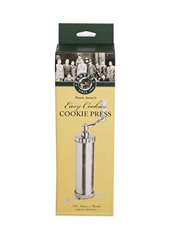 Fante's Easy Cookie Press, The Italian Market Original Since 1906, Silver