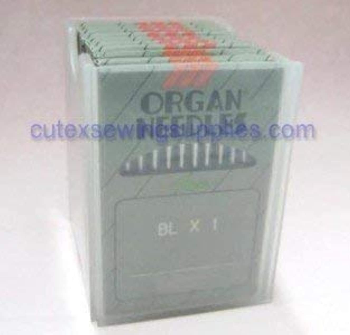 100 ORGAN BLX1 Portable Serger Needles For Babylock Bernette (Size 11 (metric 75))