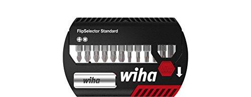 Wiha Bit Set FlipSelector Standard 25 mm Pozidriv, TORX® 13-delig. 1/4