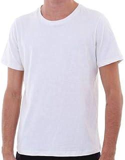 5 Camisas Básica T-shirt Plus Size Algodão Penteado MECHLER