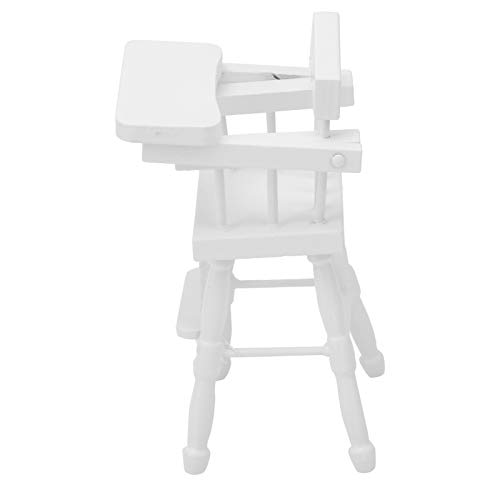 Ufolet Mini Modelo de Silla, práctico mobiliario portátil de casa de muñecas, para Juguete
