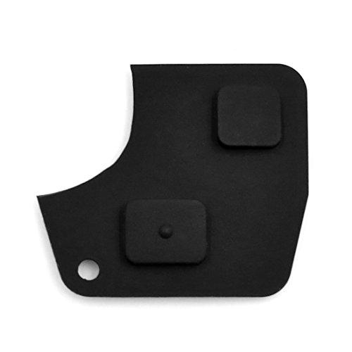 Sourcingmap 2Tasten Fernbedienung Fob Schlüssel Shell Fall Einsatz Gummi Tastatur Ersatz