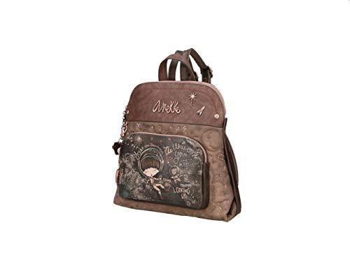 Anekke   Elegante mochila estampada universe   Accesorios y Complementos para Mujer