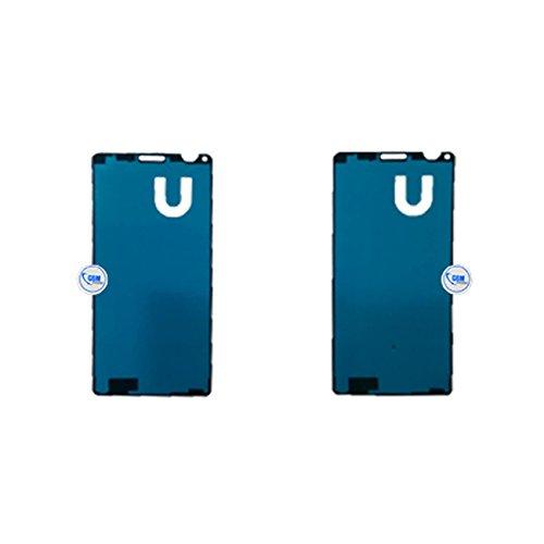 gsm-company*de 2 x Klebefolie Kleber Dichtung Touch Adhesive Display Glas Sticker für Sony Xperia Z3 Compact Mini # itreu