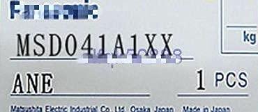 PLCABLE(修理交換用) 適用する Panasonic サーボドライバー MSD041A1XX