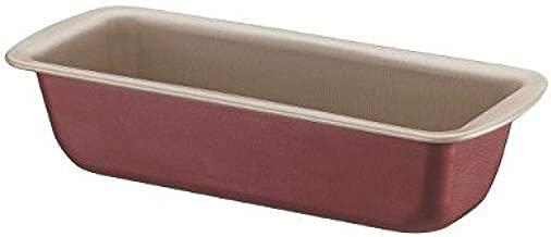 Forma para Pão e Bolo de Alumínio com Revestimento Interno Antiaderente Tramontina Brasil Vermelho