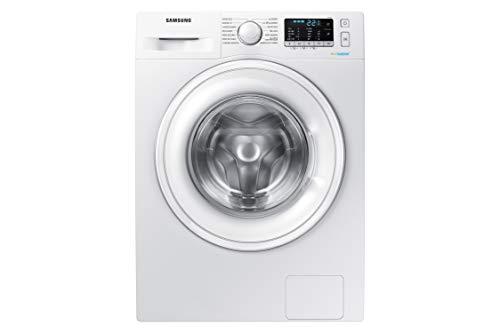 Samsung - Lavadora WW90J5355DW Serie 5 9kg, A+++, Carga Frontal, Tecnología EcoBubble™, Prelavado de Burbujas con 4 ciclos, Cubeta StayClean, Tambor Diamante y Velocidad de Centrifugado 1200rpm