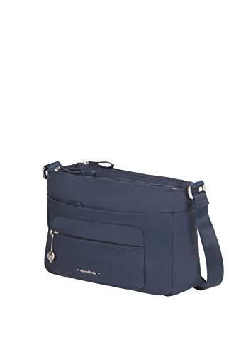Samsonite Move 3.0 Tasche Sui Fianchi, Borsa a Tracolla, Tracolla S con 1 Tasca Frontale (25 cm), Blu (Dark Blue)