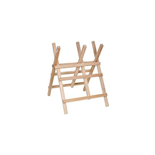 Ribiland - Chevalet bois pour sciage H. 90 cm, larg. 63 cm, section 40 x 35 mm avec chaîne - PRICPBB3 - Ribiland