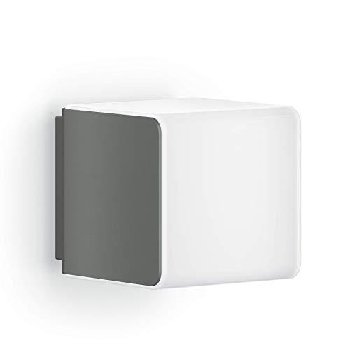 Steinel Außenleuchte L 830 iHF anthrazit, LED Wandleuchte, 160° Bewegungsmelder, vernetzbar, per App bedienbar, UV-beständiger Kunststoff, 9,5 W