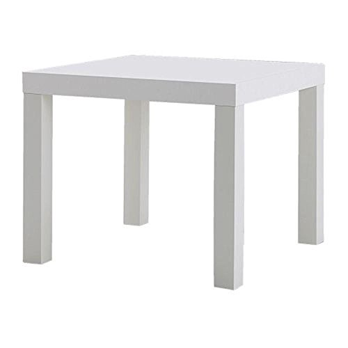 Ikea IKEALackSideWhite Lack Side Table, White