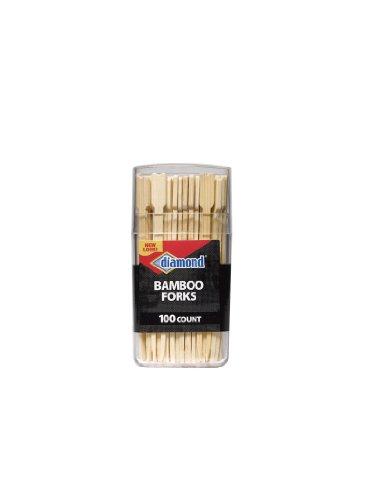 Bamboo Fork Toothpicks