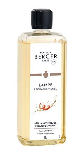 Maison Berger Paris 1898 Prickelnd wie Champagner Perfume de Hogar Pétillance Exquise 1 Litro, Blanco, 1 l