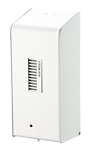 AIR-WOLF Seifenspender mit Sensor für 0,8 Liter Flüssigseife, Edelstahl weiß, Serie Lobo
