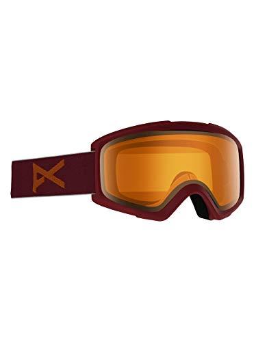 Anon Herren Helix 2.0 Non Mirror Snowboard Brille, Maroon/Amber