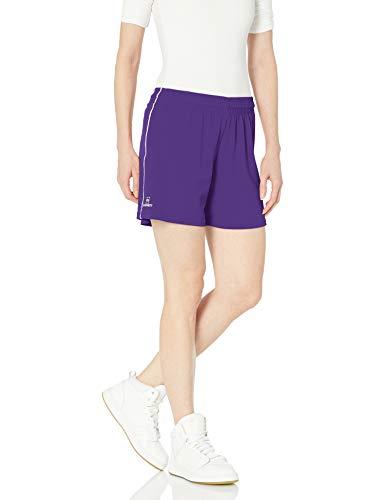 Intensität Damen Mock Mesh kurz mit Dazzle Paspelierung, Damen, Violett (New Purple)