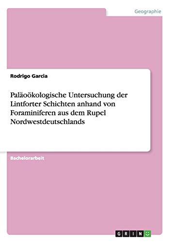Paläoökologische Untersuchung der Lintforter Schichten anhand von Foraminiferen aus dem Rupel Nordwestdeutschlands