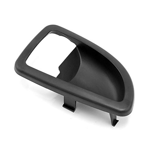 Red Hound Auto Front Driver Side Inside Black Door Handle Trim Compatible with Chevrolet Buick Pontiac 2005-2009 Uplander, Montana SV6 and 2005-2007 Terraza