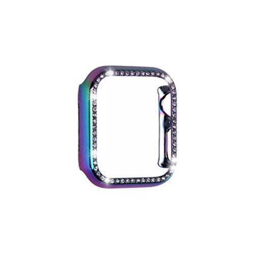TwoCC Ultra-Schlanke Luxus Bling Crystal Pc Case Cover Protector für Iwatch 5 40Mm