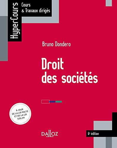 Droit des sociétés - 6e ed.