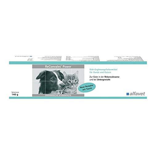 ReConvales®Power 140 g Diät-Ergänzungsfuttermittel für Hunde und Katzen Zur ernährungsphysiologischen Wiederherstellung und in der Rekonvaleszenz