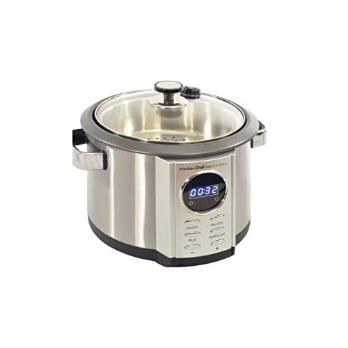 Kitchen chef - kc-387 - Multicuiseur 4,5l 700w inox