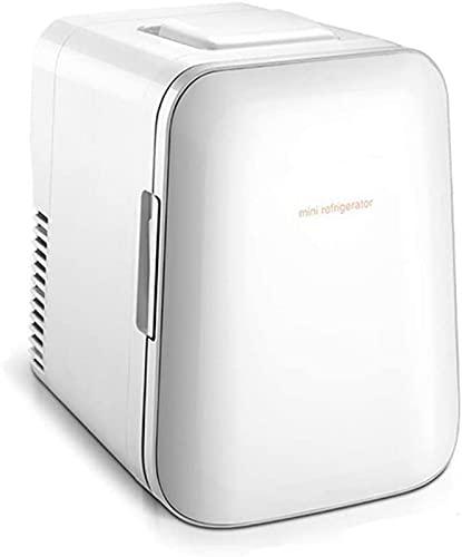 LZXH Refrigerador para automóvil Beauty Mini Nevera/Refrigerador cosmético portátil, Refrigerador pequeño silencioso con Canasta de Almacenamiento, para Maquillaje y Cuidado de la Piel, para ba