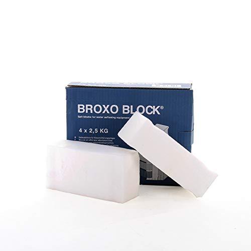 BROXO Block 4 * 2.5kg Regeneriersalz Siedesalz