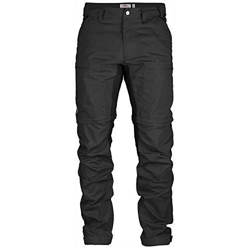 Fjällräven Herren Hose Abisko Lite Trekking Zip-Off, Dark Grey-Black, 52, F81535R-030-550