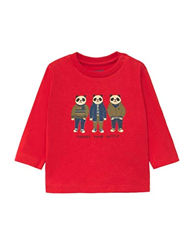 Mayoral ML Friends - Camiseta infantil 092 Rosso 74 cm(9 meses)