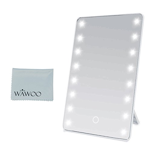 Wawoo Espejo de Maquillaje con Luz Regulable LED Pantalla T�