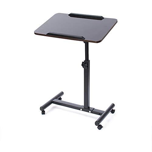 Yuzhijie [Exclusivo para teléfono móvil] Mesa portátil móvil, mesa perezosa, simple y moderna plegable y ahorro de espacio.