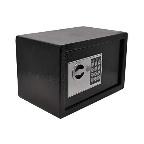 Safe mit Elektronik Zahlenschloß und Schlüssel Tresor Anti-Bounce